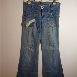 Guido and Mary flared jeans